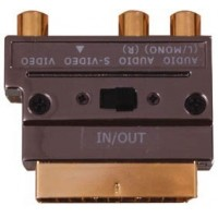 Scart adapter Gold S